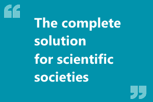 1Society.net Membership associations management. The Complete solution for scientific societies.